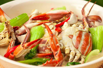 Ginataang Alimango Alimasag Crabs In Coconut Milk Recipe Pinoy Filipino Food Recipes